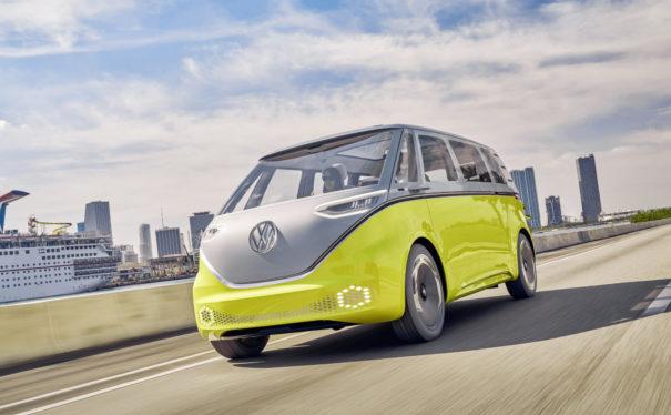 Vilde av Volkswagens ID.BUZZ